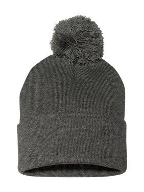 "Sportsman Headwear - Winter Pom-Pom 12"" Knit Beanie SP15"