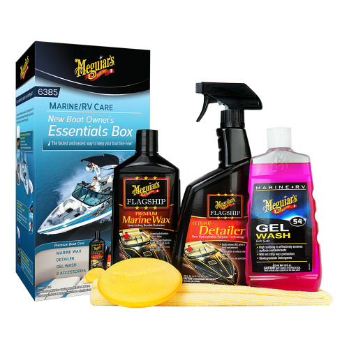 Meguiars Boat Owners Essentials Kit Boat Owners Essentials Kit