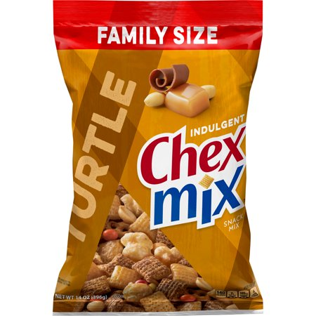 Halloween Chex Party Mix (Chex Mix Indulgent Turtle Snack Mix, 14 oz)