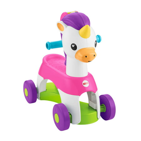 - Fisher-Price Rollin' Tunes Unicorn with Music, Phrases, & Sounds