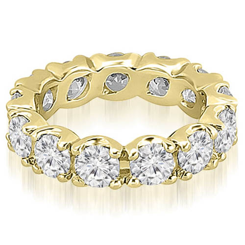 4.25 CT.TW Round Diamond Eternity Ring in 14K White, Yellow Or Rose Gold