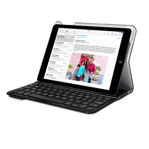Logitech Ultrathin Folio Keyboard Case for iPad Air - Black (Will not fit iPad Air 2)