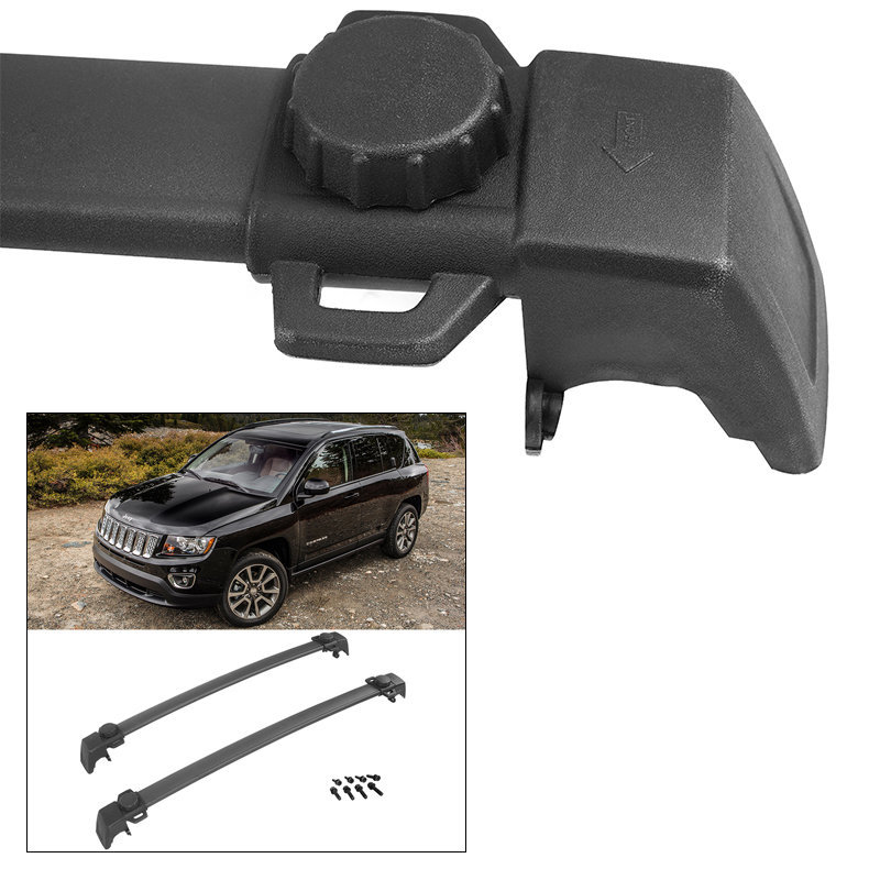 General Jeep Compass OE Style Roof Rack Crossbars Cargo C...