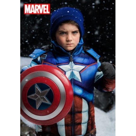 Kids Captain America Puffer Jacket](Captain Hook Jacket)