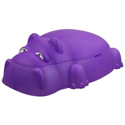 Starplay Hippo Pool 3.2' Novelty Sandbox with Cover