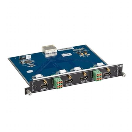 Black Box Network Services AVS-4O-HDM Modular Video Matrix Switcher Output Card - 4K, HDMI - Analog Audio