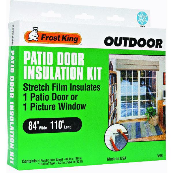 Reach Barrier 3122 Silvertanium Garage Door Insulation Kit   Walmart.com