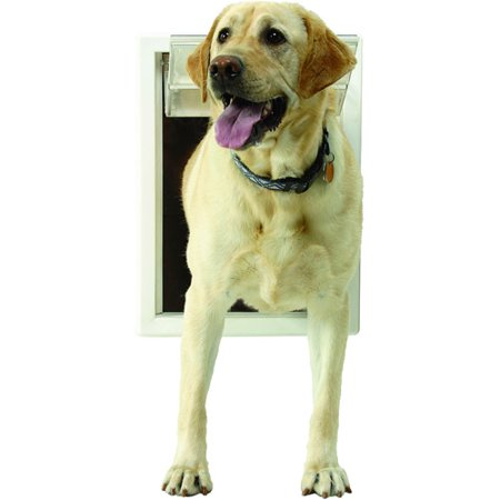 Ideal Ultraflex Pet Door White Extra Large Walmart