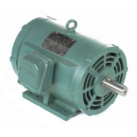 Nema 215t Frame (10 hp 1760 RPM 215T Frame 208-230/460V Open Drip Leeson Electric Motor #)