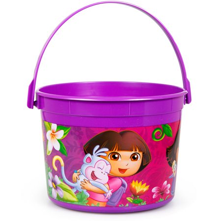 Dora's Flower Adventure Favor Container - Party Supplies - Dora's Halloween Vhs