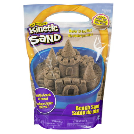 Kinetic Sand, 3lbs Beach Sand for Ages 3 and Up (Packaging My Vary) - Children's Christmas Crafts