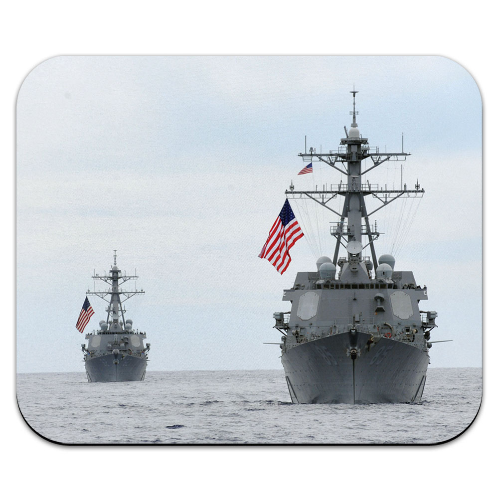 United States Navy Destroyer Mouse Pad