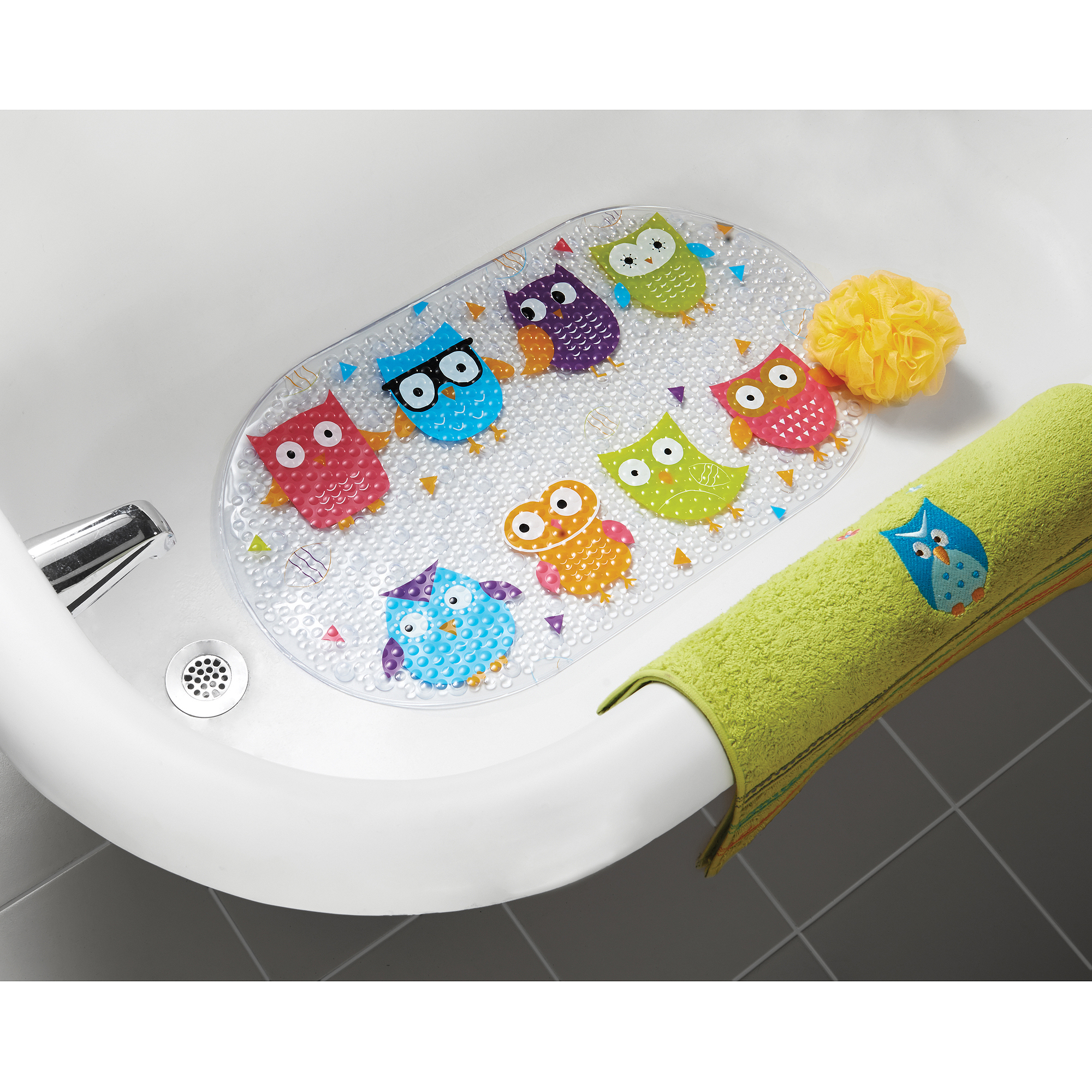 Wonderful Mainstays Whooty Bathtub Mat   Walmart.com