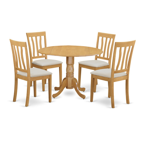 August Grove Spruill 5 Piece Dining Set