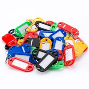 50 Key Tags, assorted color