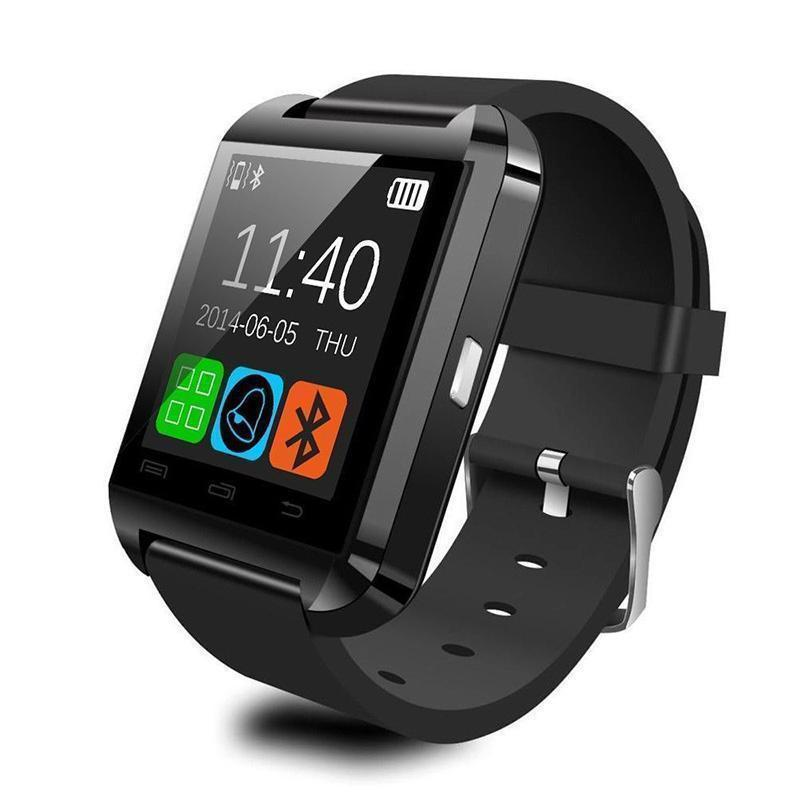 Amazingforless T-9 Premium Black Bluetooth Smart Wrist Watch Phone mate for Android Samsung HTC LG Touch Screen with Camera