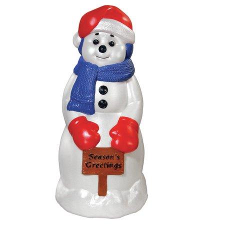 - General Foam Plastics Season's Greetings Snowman