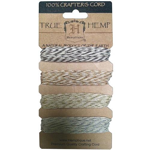 Metallic Hemp Cord #20, Vintage
