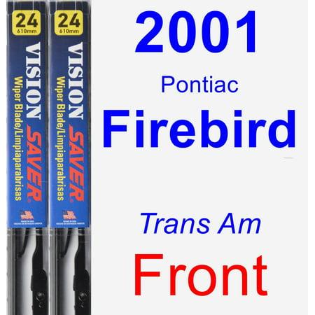 2001 Pontiac Firebird (Trans Am) Wiper Blade Set/Kit (Front) (2 Blades) - Vision Saver