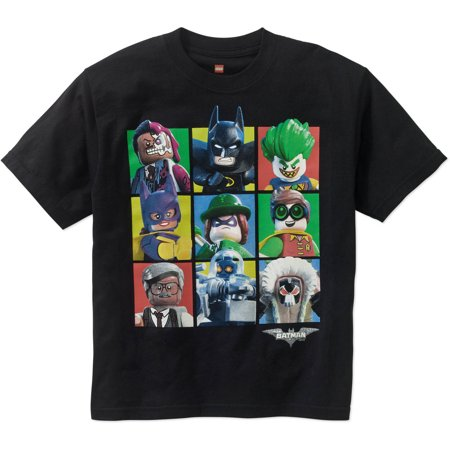 LEGO Boys' Batman Movie Group Graphic Tee