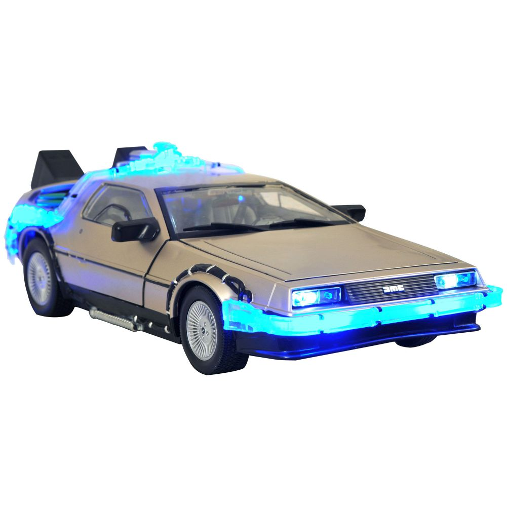 Back to the Future DeLorean Figure