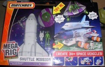 Matchbox Mega Rig Shuttle Mission Huge Play Set by Mattel