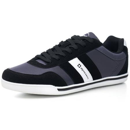 Web Stripe Sneakers (alpine swiss haris mens retro striped athletic shoes fashion sneaker tennis)