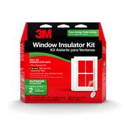 3M Outdoor Window Insulator Kit, 2 Window Kit