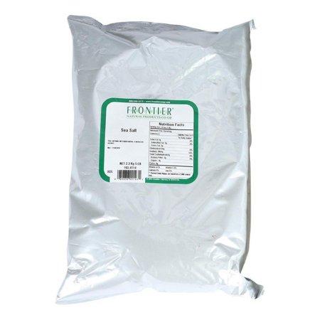 Frontier Herb Sea Salt - Table Grind - Bulk - 5