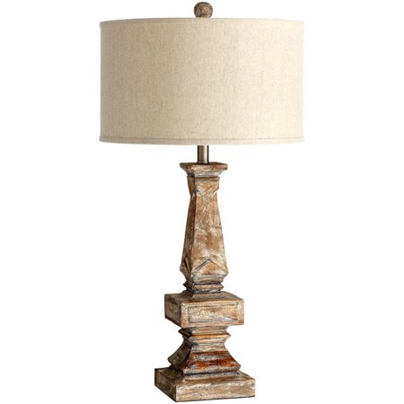 Table Lamp Cyan Design Tashi 1 Light White Liner Oatmeal Shade Parsons Fa Cy 916