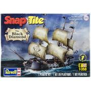 SnapTite Plastic Model Kit Black Diamond Pirate Ship 1:350