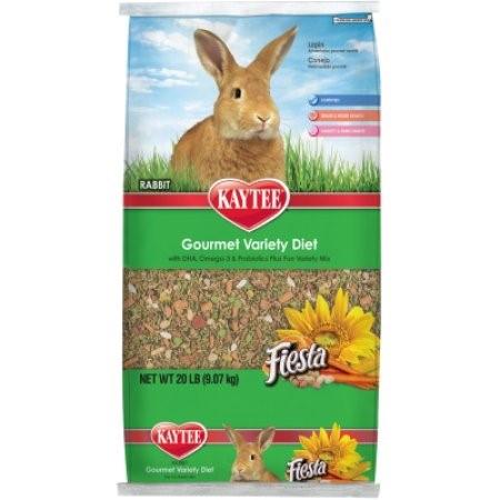 Kaytee Fiesta Rabbit Food, 20 Lb by Kaytee