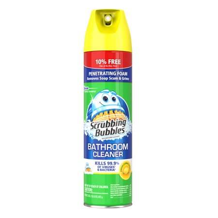 Scrubbing Bubbles Disinfectant Bathroom Cleaner Citrus Scent 22 Ounces