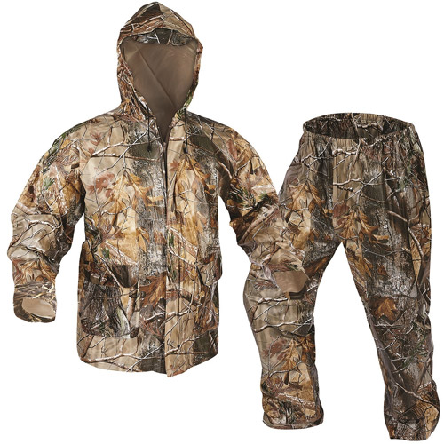Realtree AP Adult PVC Rainsuit, Medium by Onyx Outdoor