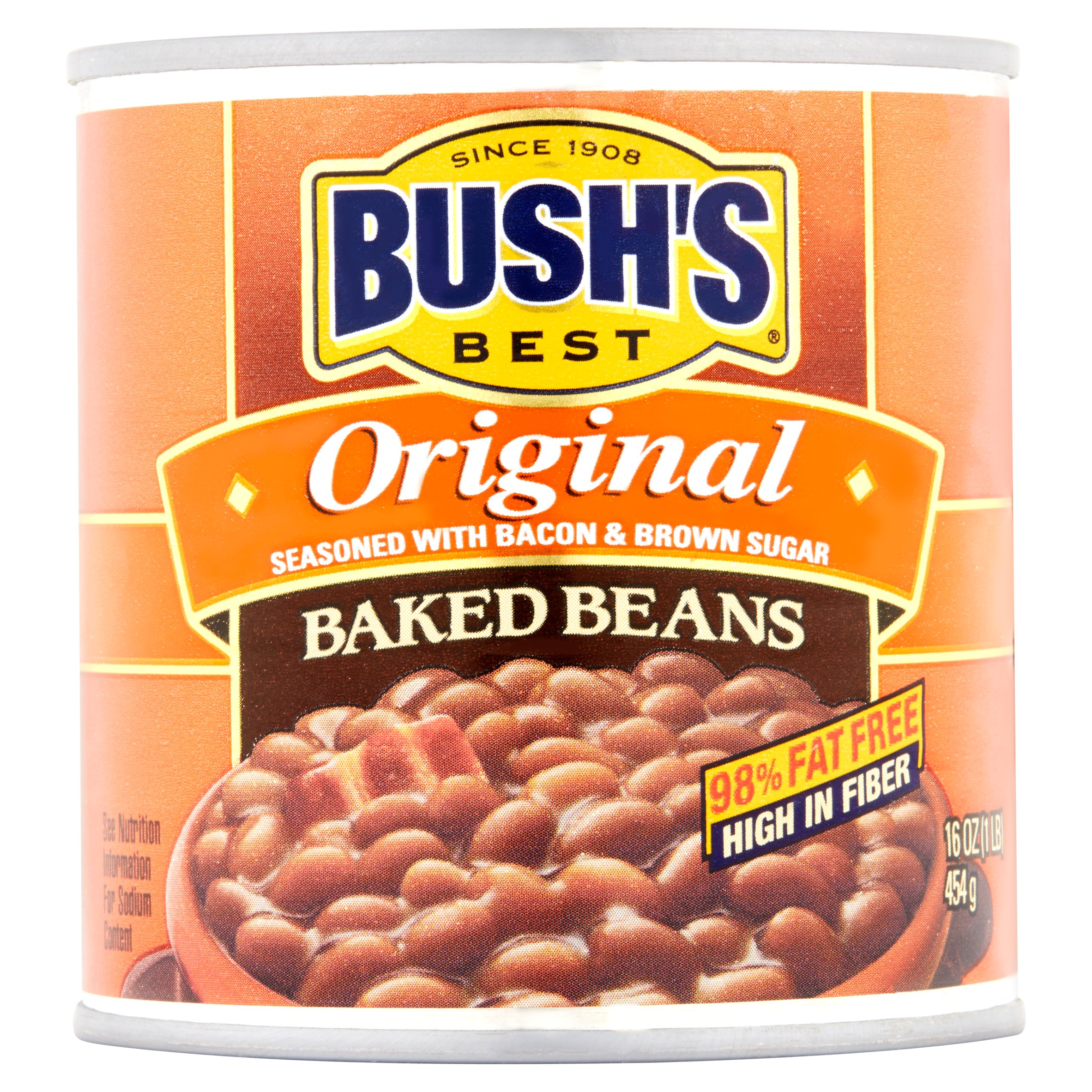 BUSH'S BEST Baked Beans Original, 16.0 OZ by Bush Brothers & Company