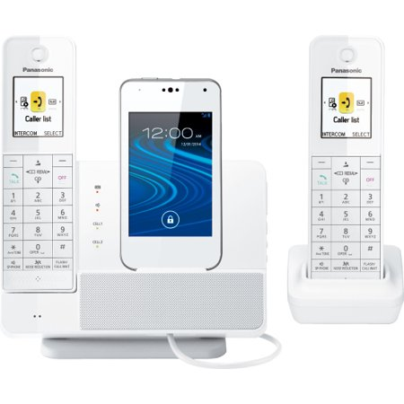 Panasonic Link2cell Kx-prd262w Dect 6.0 1.93 Ghz Cordless Phone - White - Cordless - 984.25 Ft Range