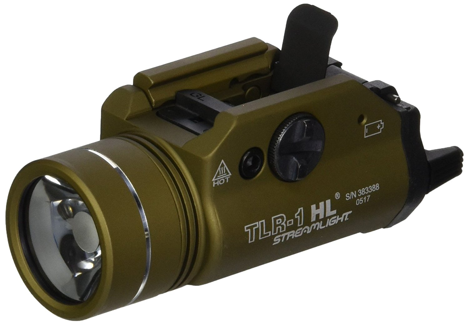 Streamlight 69266 TLR-1-HL Includes Rail Locating Keys for Glock style, 1913 P by Supplier Generic