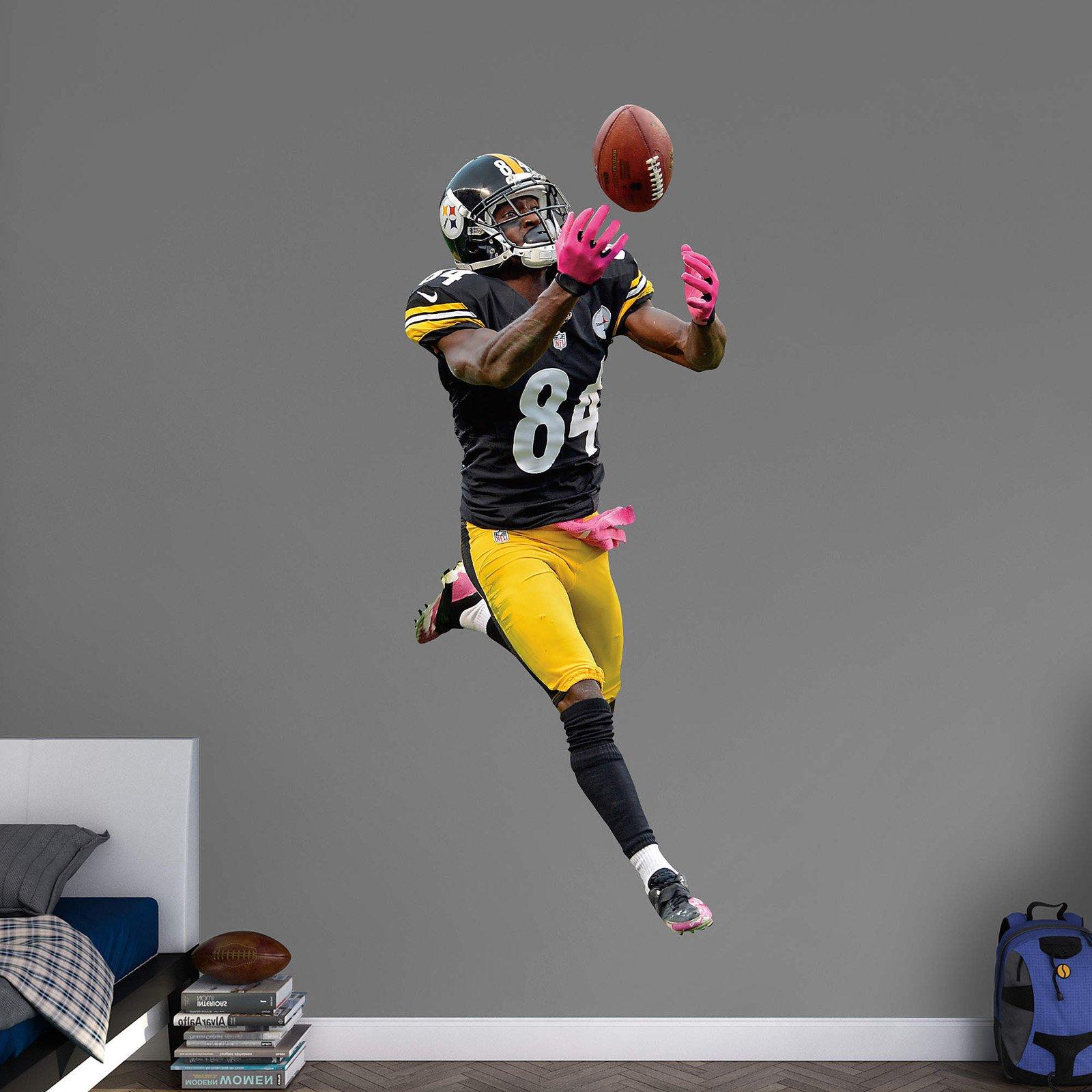 Fathead NFL Pittsburgh Steelers Antonio Brown Wall Decal