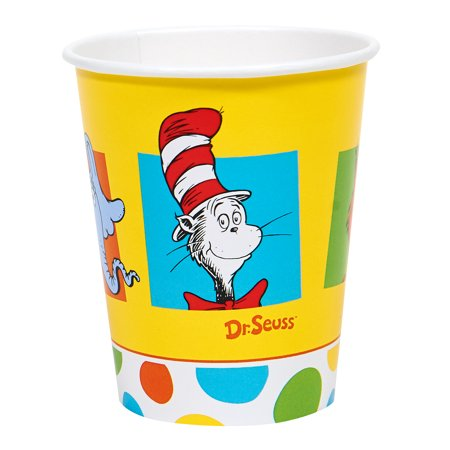 Dr Seuss Paper (Dr Seuss Party Supplies Paper Cups for)
