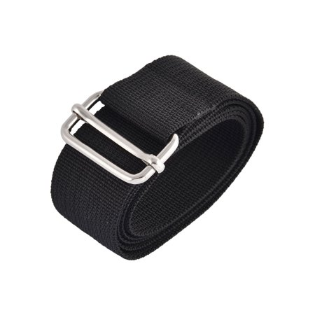 Home Travel Nylon Adjustable Suitcase Luggage Strap Belt Buckle Black 1M (Length Buckle)