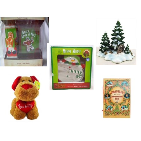 Cracker Barrel Christmas.Christmas Fun Gift Bundle 5 Piece Hallmark Keepsake Santa Look At Me Ornament Dept 56 Village Accessory Wagonwheel Pine Grove Cracker Barrel