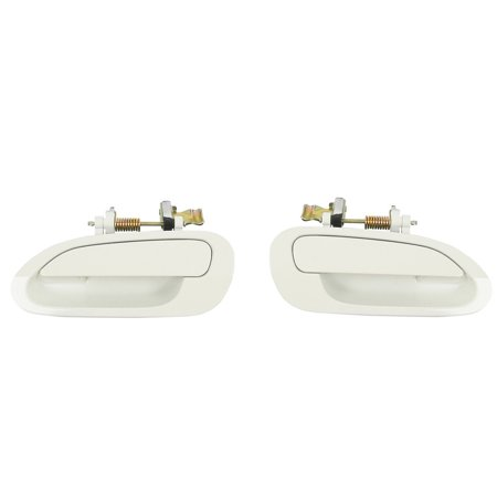 Cf Advance For 98 02 Honda Accord Rear Left And Right Exterior Outside Door Handle Pair Set Of