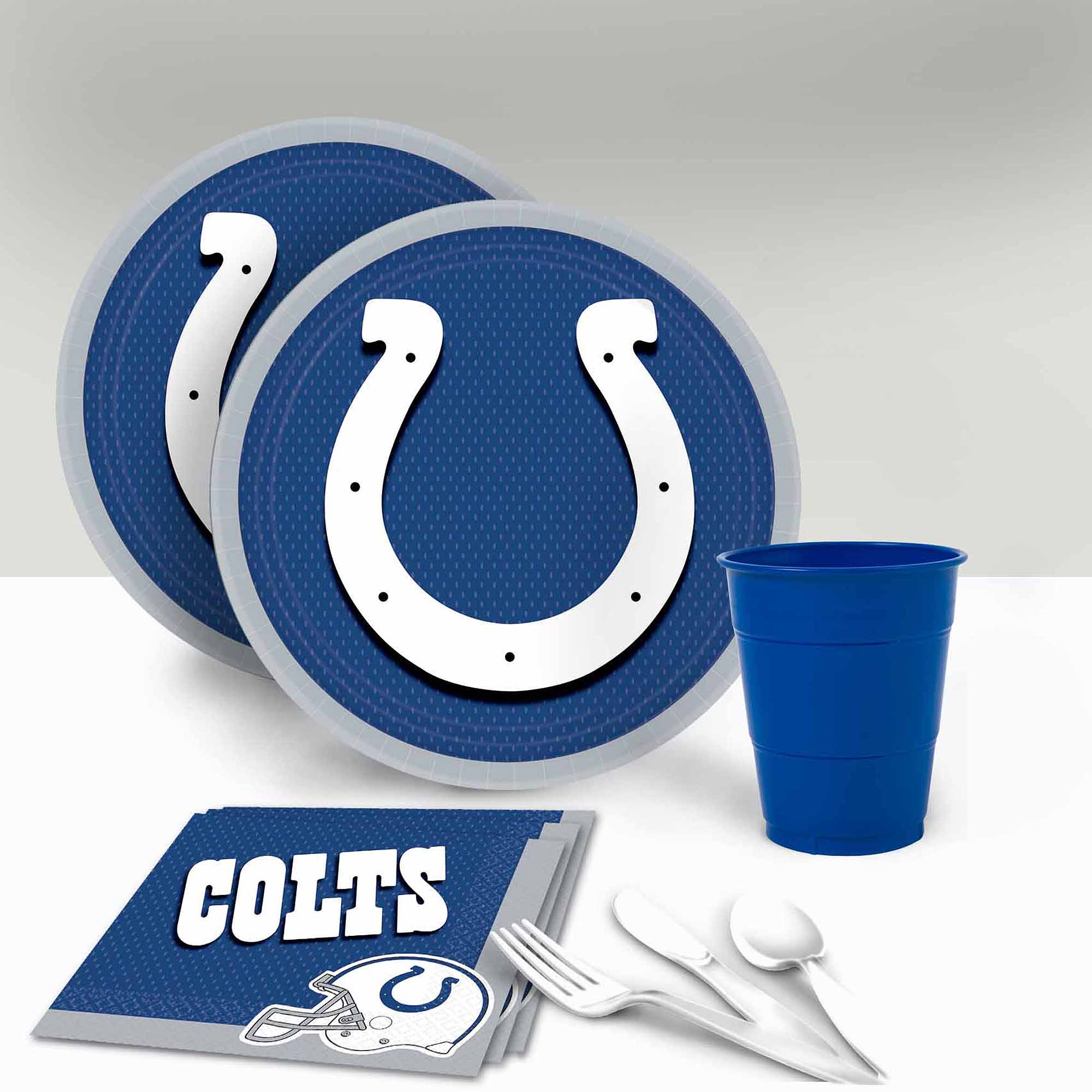 Indianapolis Colts Tableware Party Pack for 16