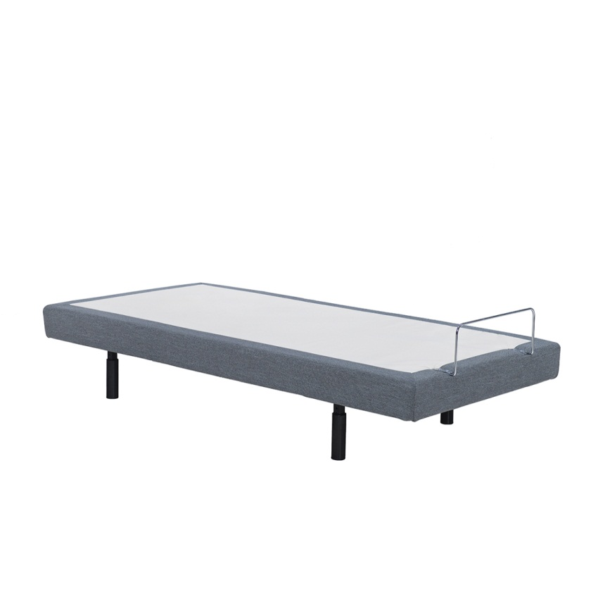Adjustable Bed Frame Base King Size with Horizontal Split by Overstock
