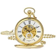 Charles-Hubert Paris Men's 3973-G Classic Collection Pocket Watch