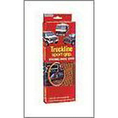 (Superior 58-0470B Truckline Sport Grip Steering Wheel Cover, Black)