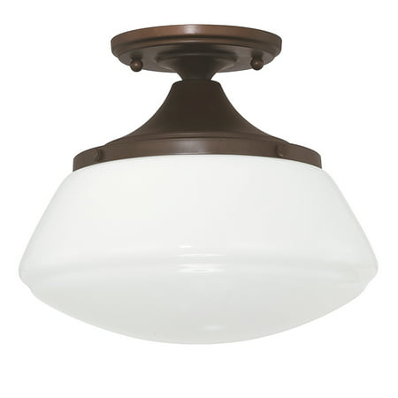 Capital Lighting Capital Ceiling Burnished Bronze 1 Light Ceiling Fixture
