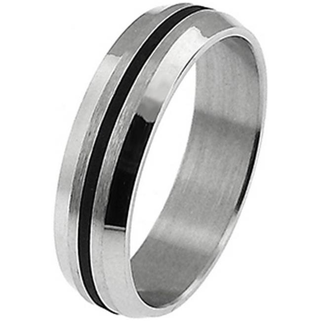 Doma Jewellery SSSSR01510 Stainless Steel Ring, Size 10