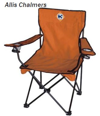 Click here to buy Allis Chalmers Adult Camp Chair.