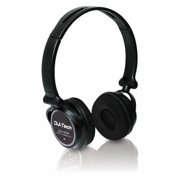 FIRST AUDIO MANUFACTURING DJH555 Professional USB DJ On-Ear Headphones with Built-in Soundcard